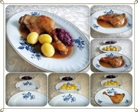 ☆…alle Jahre wieder…☆…  Gänsekeulen, Rotkohl und Kartoffeln - Rezept - Bild Nr. 10
