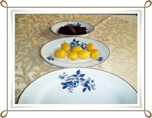 ☆…alle Jahre wieder…☆…  Gänsekeulen, Rotkohl und Kartoffeln - Rezept - Bild Nr. 11
