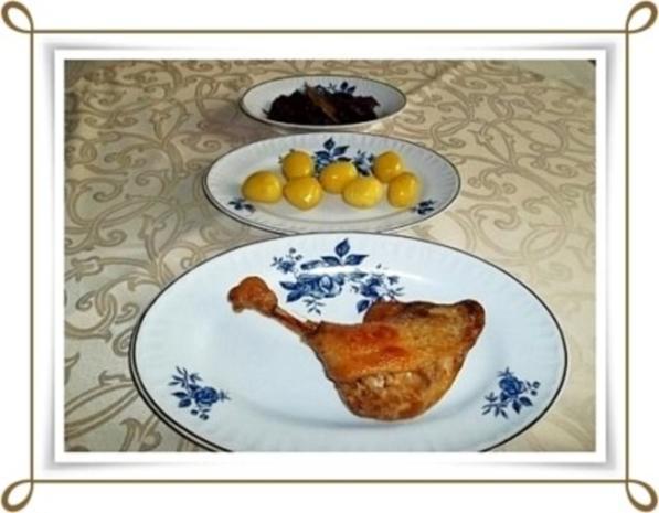 ☆…alle Jahre wieder…☆…  Gänsekeulen, Rotkohl und Kartoffeln - Rezept - Bild Nr. 12