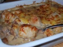 Hähnchen-Champignon-Auflauf - Rezept