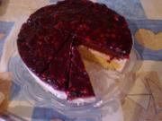 Beeren-Joghurt-Sahne-Torte - Rezept