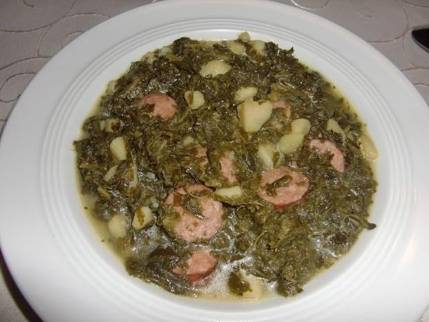Grünkohl-Suppe à la Heiko - Rezept
