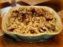 Raclette: Nudel-Pilz-Pfännchen - Rezept