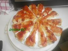 Friesentorte mit Preiselbeeren - Rezept