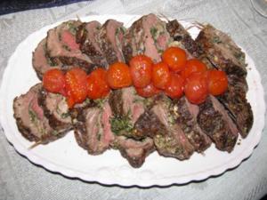 Fleisch: Gefülltes Rinderfilet - Rezept
