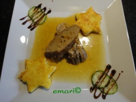 Schweine Filet in Orangen Sauce - Rezept