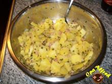 Salate: Lauwarmer Kartoffelsalat - Rezept