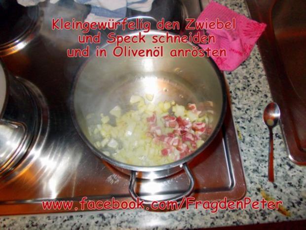 Feurige Sardellen-Pfefferoni  Spaghetti mit Paprika-Olivensoße - Rezept - Bild Nr. 6