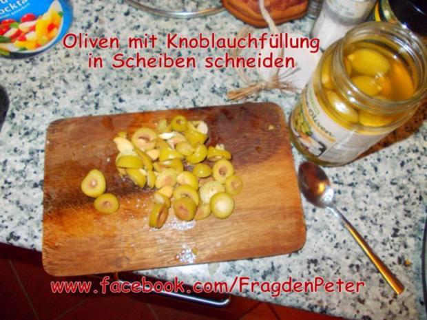 Feurige Sardellen-Pfefferoni  Spaghetti mit Paprika-Olivensoße - Rezept - Bild Nr. 7