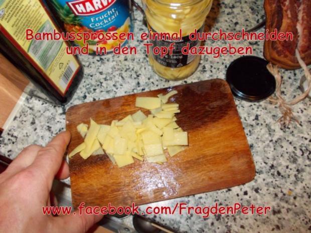 Feurige Sardellen-Pfefferoni  Spaghetti mit Paprika-Olivensoße - Rezept - Bild Nr. 10