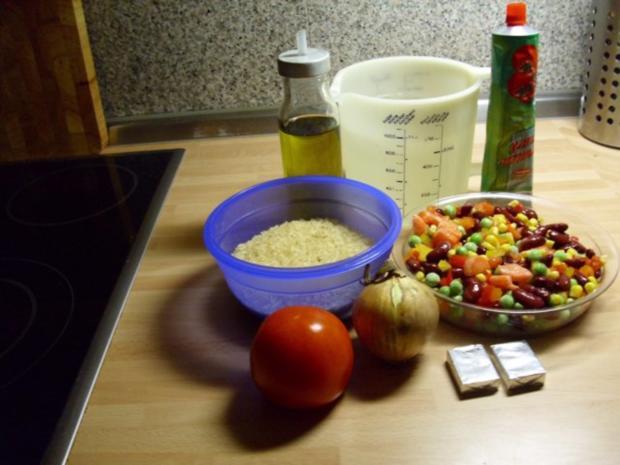 Reis- Gemüse Pfanne - Rezept - Bild Nr. 2