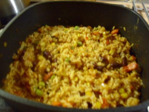 Reis- Gemüse Pfanne - Rezept - Bild Nr. 6