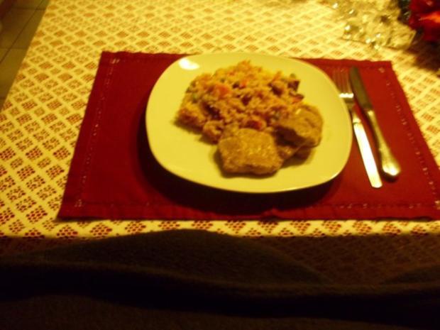 Reis- Gemüse Pfanne - Rezept - Bild Nr. 7