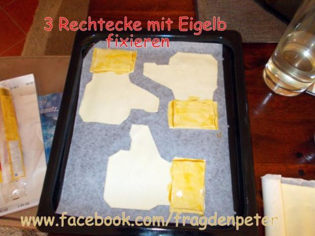 Blätterteig Dessert mit Eis und Früchten - Rezept - Bild Nr. 11