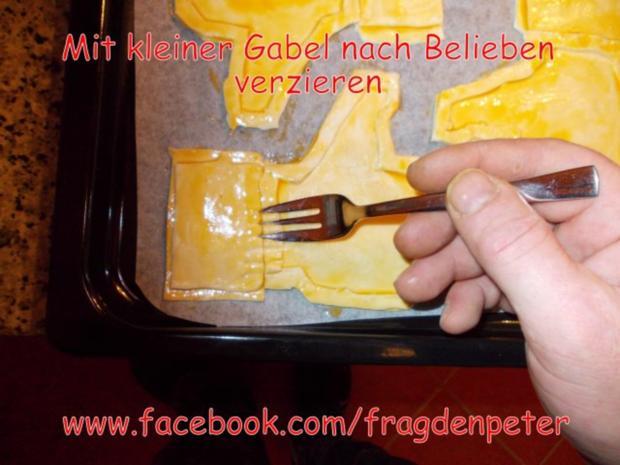 Blätterteig Dessert mit Eis und Früchten - Rezept - Bild Nr. 13