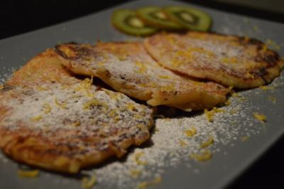 Oma Marias Apfelnockerl mit Grundrezept für Palatschinken - Rezept