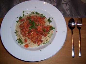 Spaghetti Alfredo - Rezept