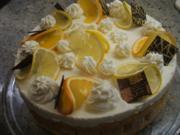 Backen: Zitrusfrucht-Torte - Rezept