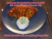 Seelachs-Kartoffelpuffer mit Knoblauch Dip - Rezept