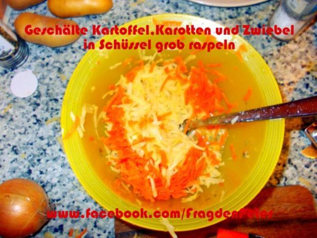 Seelachs-Kartoffelpuffer mit Knoblauch Dip - Rezept - Bild Nr. 4
