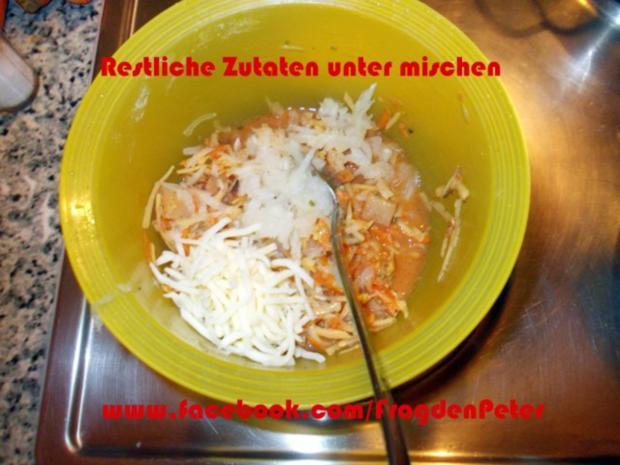 Seelachs-Kartoffelpuffer mit Knoblauch Dip - Rezept - Bild Nr. 5