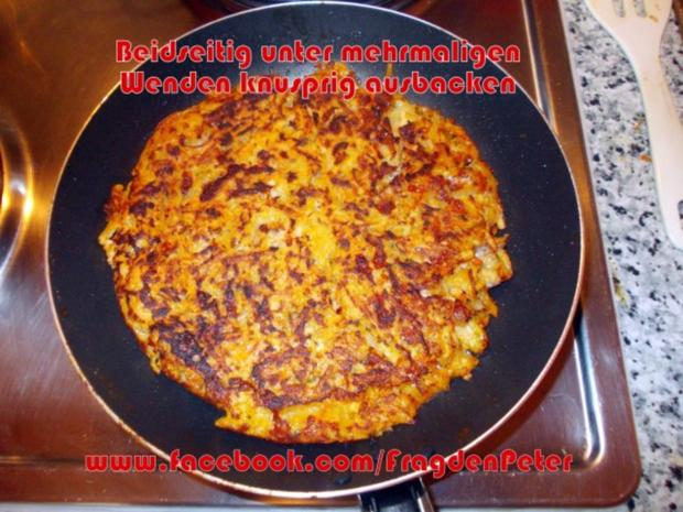 Seelachs-Kartoffelpuffer mit Knoblauch Dip - Rezept - Bild Nr. 6