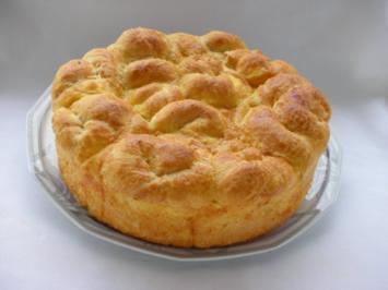 Rezept: Bulgarisches Schafskäse Brot- Tutmanik