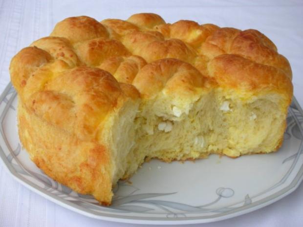 Bulgarisches Schafskäse Brot- Tutmanik - Rezept - Bild Nr. 2