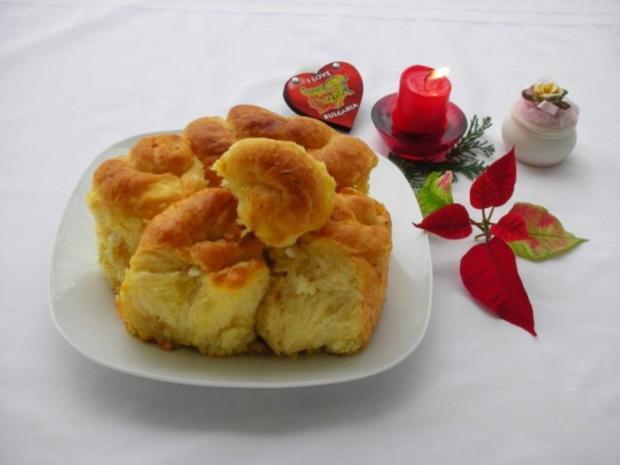 Bulgarisches Schafskäse Brot- Tutmanik - Rezept - Bild Nr. 3
