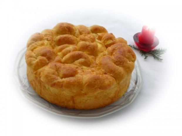 Bulgarisches Schafskäse Brot- Tutmanik - Rezept - Bild Nr. 4