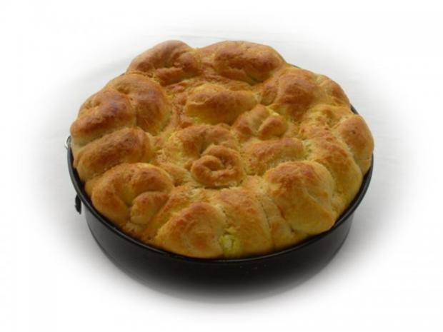 Bulgarisches Schafskäse Brot- Tutmanik - Rezept - Bild Nr. 18