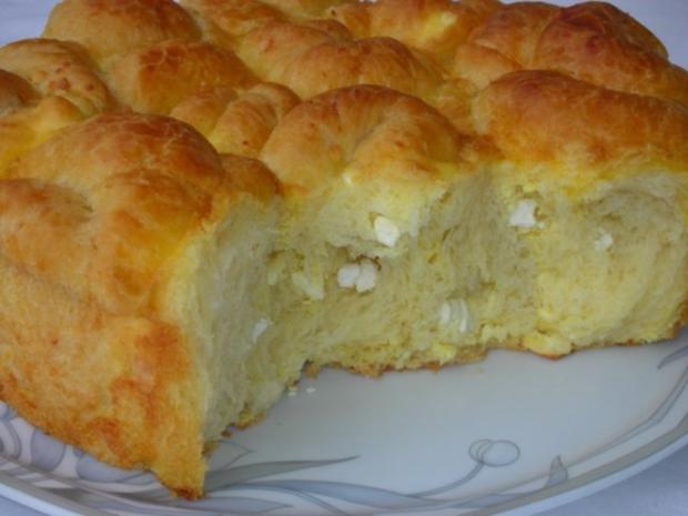 Bulgarisches Schafskäse Brot- Tutmanik - Rezept - Bild Nr. 20