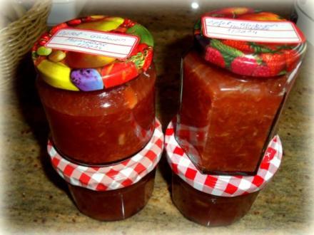 Apfel-Glühwein-Marmelade - Rezept