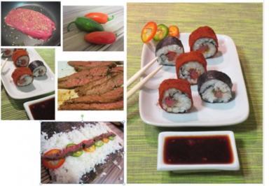 Rezept: Rinderfilet-Jalapeño-Sushi
