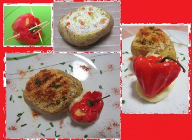 Scharfe Backkartoffeln mit Habanero-Topping - Rezept