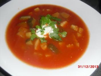 Fisch-Tomaten-Suppe - Rezept