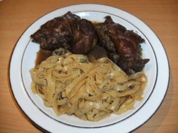 Fleisch: Lammhaxe gefüllt - Rezept