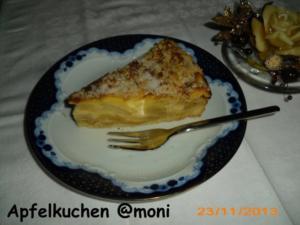 Apfelkuchen mit Schmand - Rezept