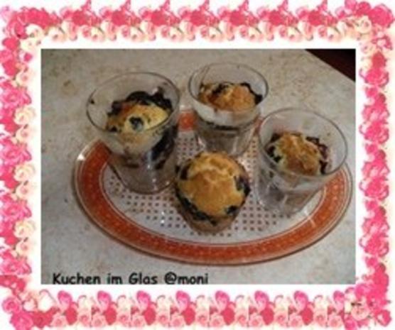 Kuchen im Glas - Rezept