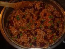 Reis mit Bohnen - Rezept