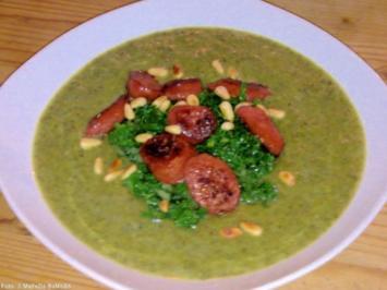 Grünkohl-Cremesuppe - Rezept