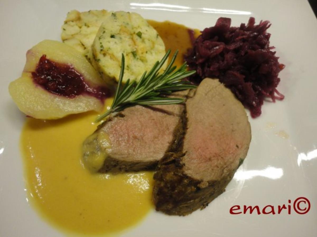 Reh Filet mit 2 erlei Saucen - Rezept Gesendet von emari