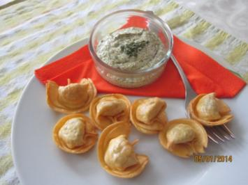 Frittierte -Tortelloni - Rezept