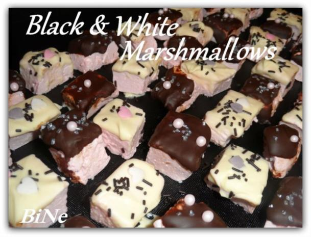 BiNe` S BLACK & WHITE MARSHMALLOWS - Rezept - Bild Nr. 2