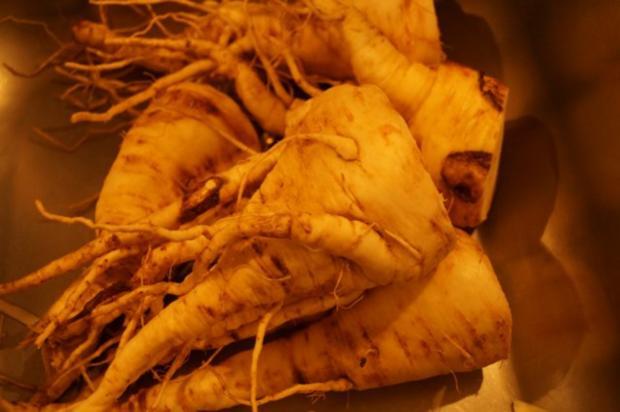 Hot Pastinaken Petersilienwurzelsuppe - Rezept