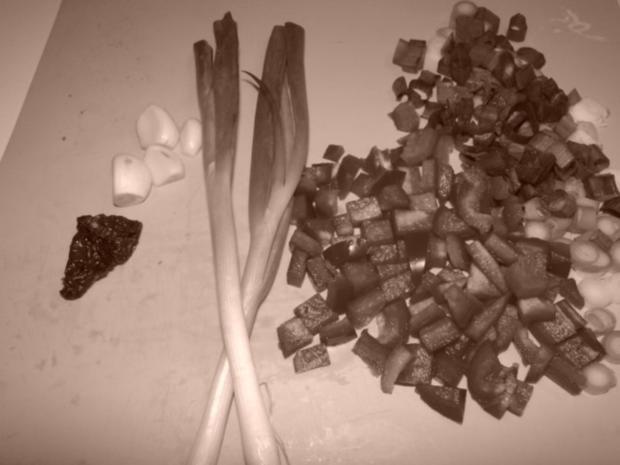 Riesengarnelen und Gourmetgarnelen mit Knobi und - Rezept - Bild Nr. 3