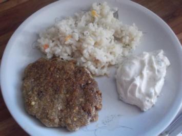 Vegetarisch - Bratlinge, verschärft - Rezept