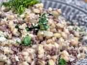 Weichweizen mit Rinderhack und Fenchel - Rezept