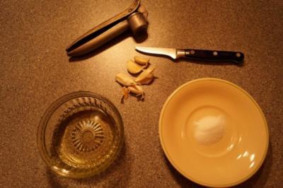 Rezept: Knoblauchöl