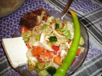 zyprischer salat - Rezept